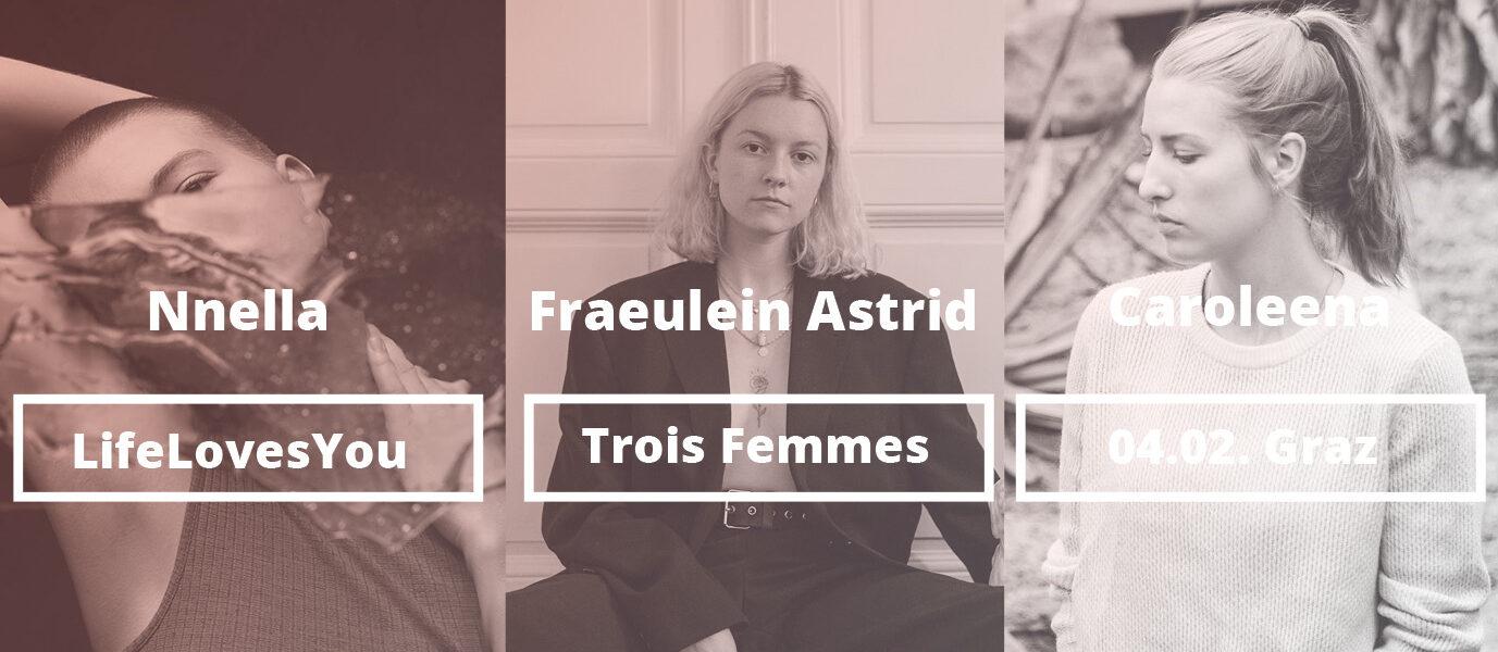 Trois Femmes Titelbild Graz