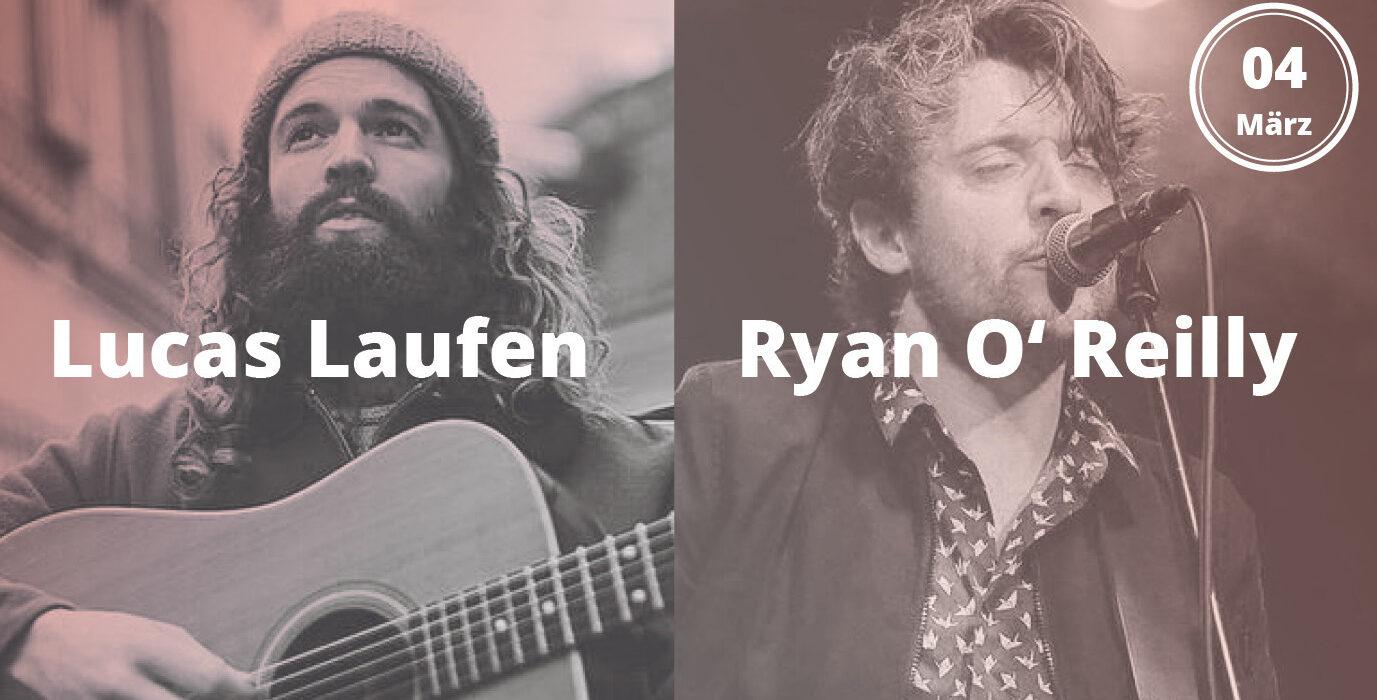 lucas laufen und ryan o'reilly live in Graz 04.03